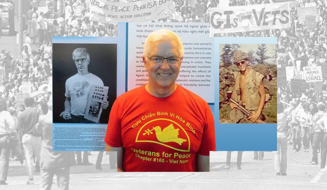 Podcast: VFP 160's Paul Cox, Viet Nam grunt to war resister